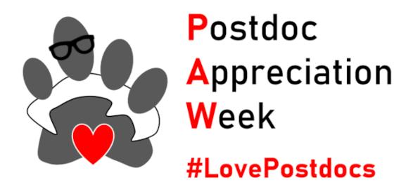 National Postdoc Appreciation Week – 20th to 24th September 21